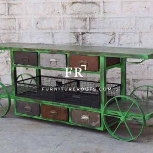 Distress Kitchen Trolley