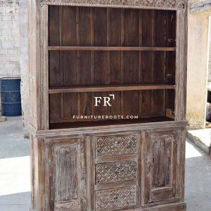 Carved Hutch Cabinet – Nightclub & Lounge Bar Chair | FurnitureRoots