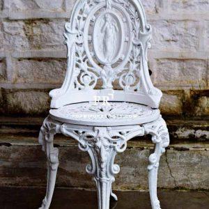 Baroque Iron Chair