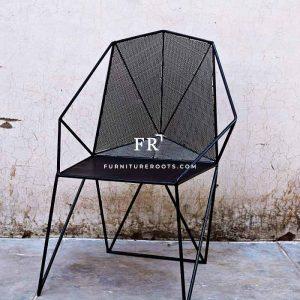 Metal Mesh Rest Chair