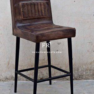Industrial Full Back Barchair – Industrial Tall Bar Chairs | FurnitureRoots
