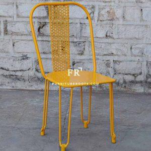 Boho Yellow Outdoor Chair – Commercial Outdoor Chairs | FurnitureRoots