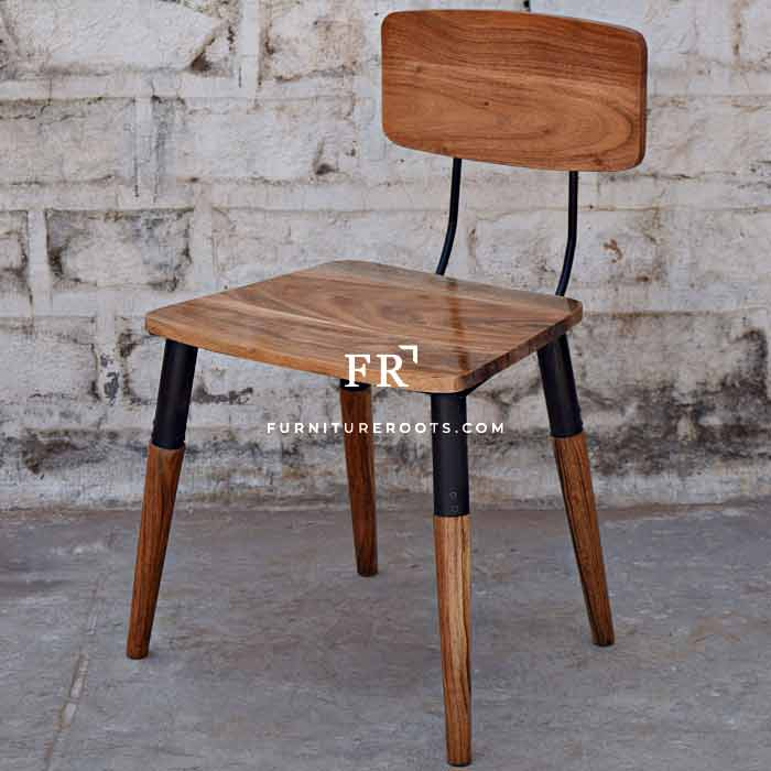 Rustic Industrial Side Chair – Hospitality Dining Chairs | FurnitureRoots