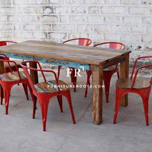 Master-Crafted Dining Set – Reclaimed Dining Sets | FurnitureRoots