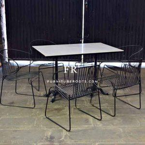 Purpose-Built Marble Table – Hospitality Outdoor Furniture   FurnitureRoots