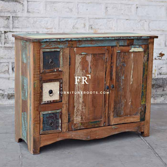 Indian Cabinet Furniture – Distressed Accent Cabinets | FurnitureRoots