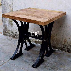 Heavy Cast Iron Table
