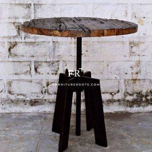 Railway Slipper Wood Table