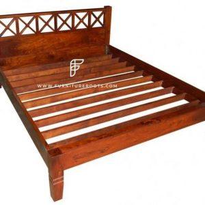 Solid Wood Designer Hotel Room Bed