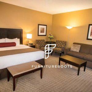 Luxury Hotel Solid Bedroom Set